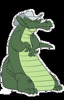 Croc by dwaynebiddixart