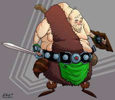 Oldman by dwaynebiddixart