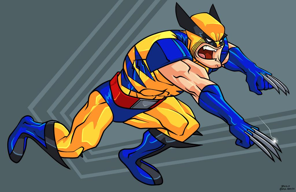 Wolverine by dwaynebiddixart