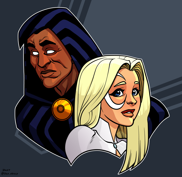 Cloak And Dagger by dwaynebiddixart