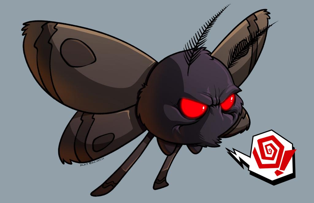 Lil Mothy by dwaynebiddixart