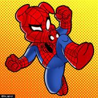 SpiderHam by dwaynebiddixart