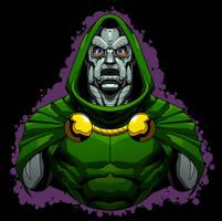 Doom by dwaynebiddixart