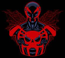Spiderman2099 by dwaynebiddixart