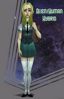Alien Hybrid by dwaynebiddixart