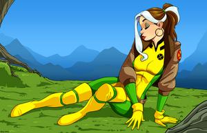 Rogue by dwaynebiddixart