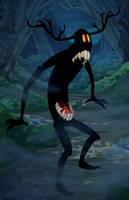 Monster by dwaynebiddixart