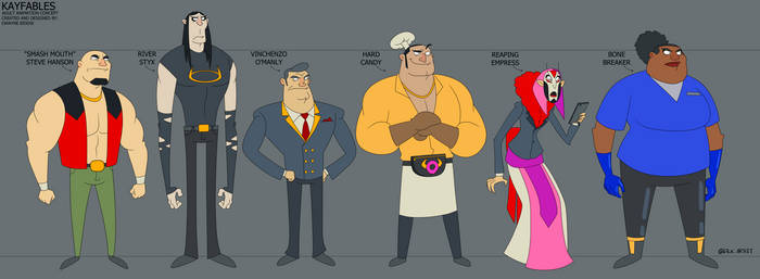 Sm Characters Draft 2