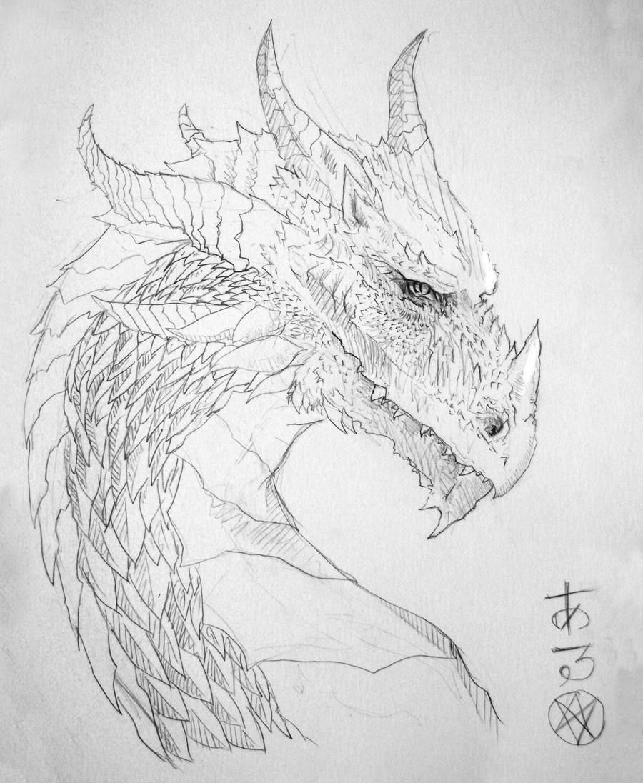 Dragon Head by zepher234 on DeviantArt