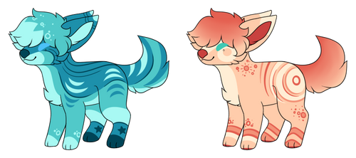 Auction Adopts - (1/2) OPEN by chronic-rose