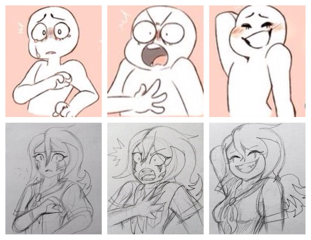 It is a photo of Comprehensive Drawing Expressions Practice