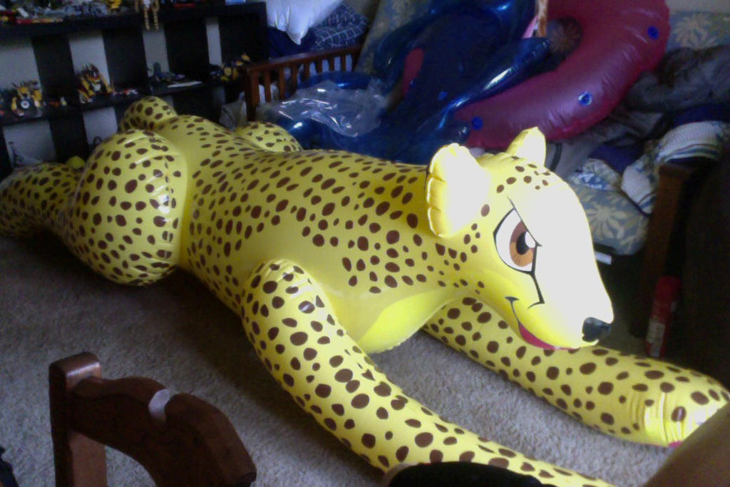 Incroyable My New Inflatable Cheetah By Deadfoxt2014 ...