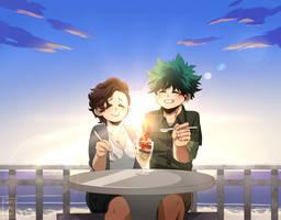 [CM] - Shadow-chroma - Izuku and Mira