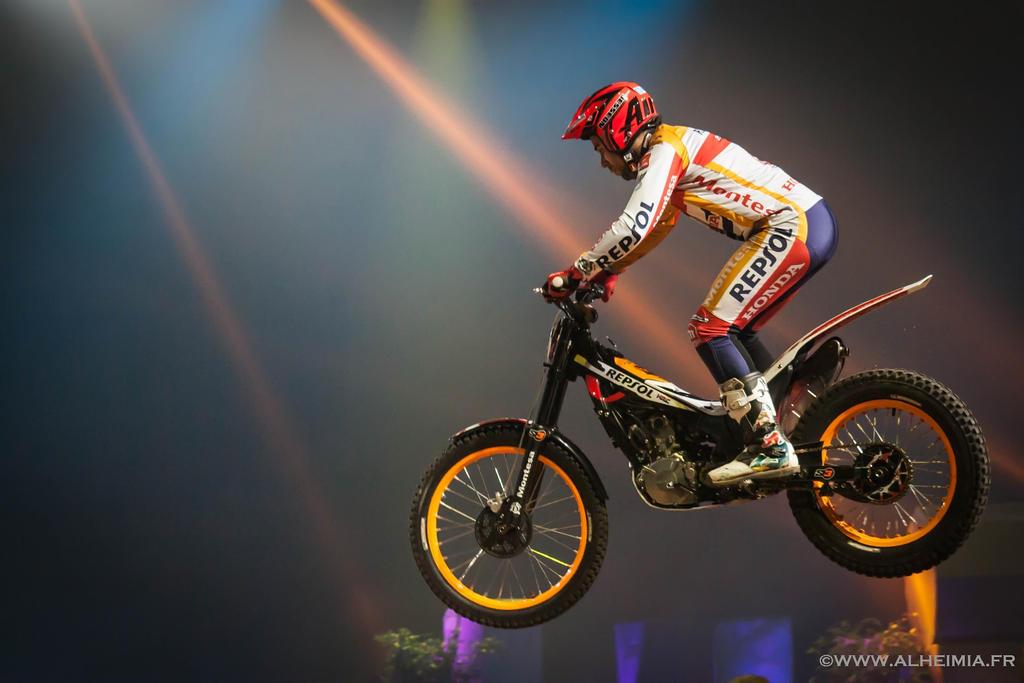 Moto Trial Indoor International by Alheimia