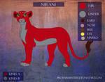 Nirani Character Sheet (2014) by PhoenixMystery