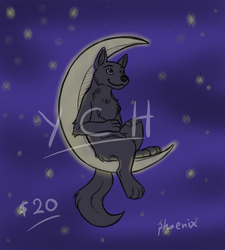 Mooncubs-canine version (YCH- OPEN)