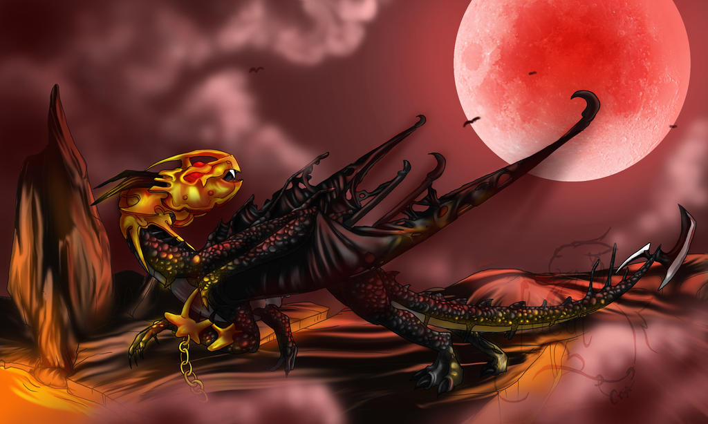 Red Moon Walker - Commission by Fucal