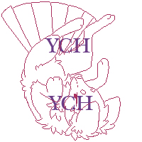 Falling down  - Foxfan YCH by Fucal
