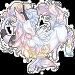 Fluffy Dragon - Opalith