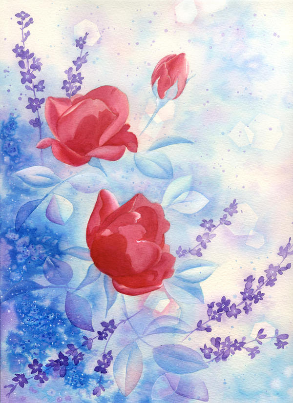 Les Fleurs by Veronnikka
