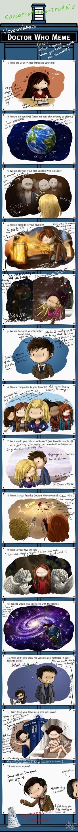Doctor Who Meme by Veronnikka