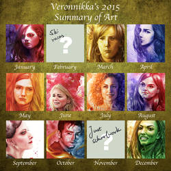 2015 Summary of Art - Veronnikka by Veronnikka