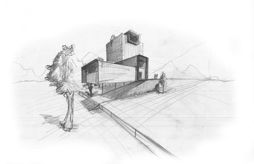 Architektur skizze by lukasch1986 on deviantart - Architektur skizze ...