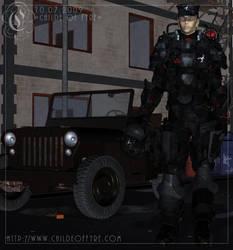 Scorpion : Ricochet by Childe-Of-Fyre