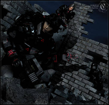 Blood Scorpions : Warzone by Childe-Of-Fyre