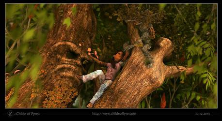 Stefanie Lightfoot : Tree People 2 by Childe-Of-Fyre