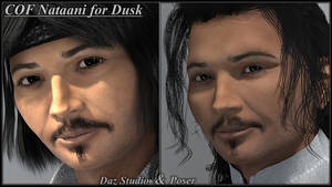COF Nataani for Dusk - Poser and DS