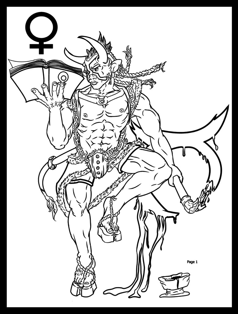 Zodiac Line Drawing : Zodiac taurus by kaze fox on deviantart