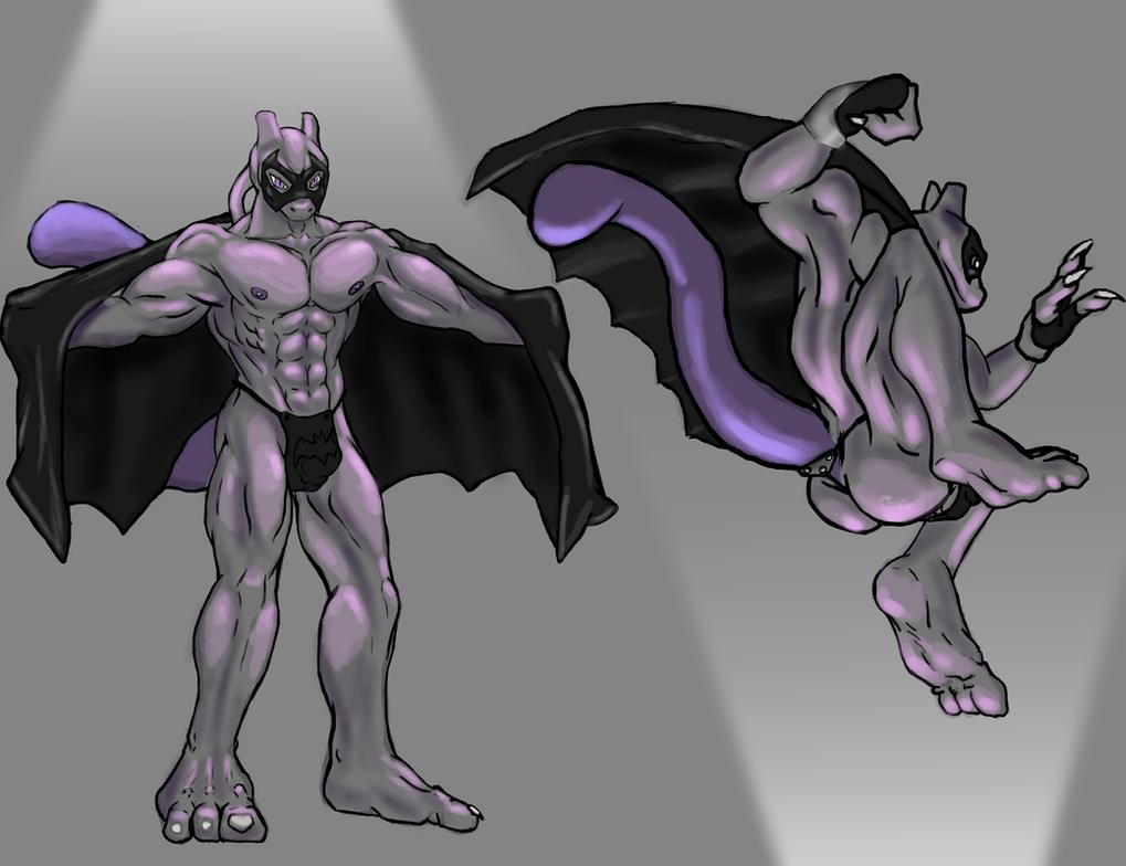 Commission: Mewbat by kaze-fox