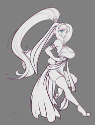 Sketch - Mei'Lia by ScorpDK