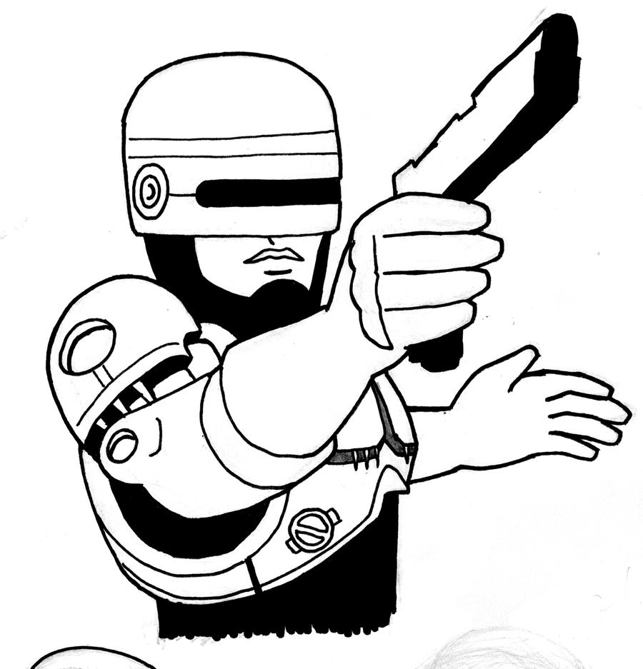 robocop coloring pages - photo#30