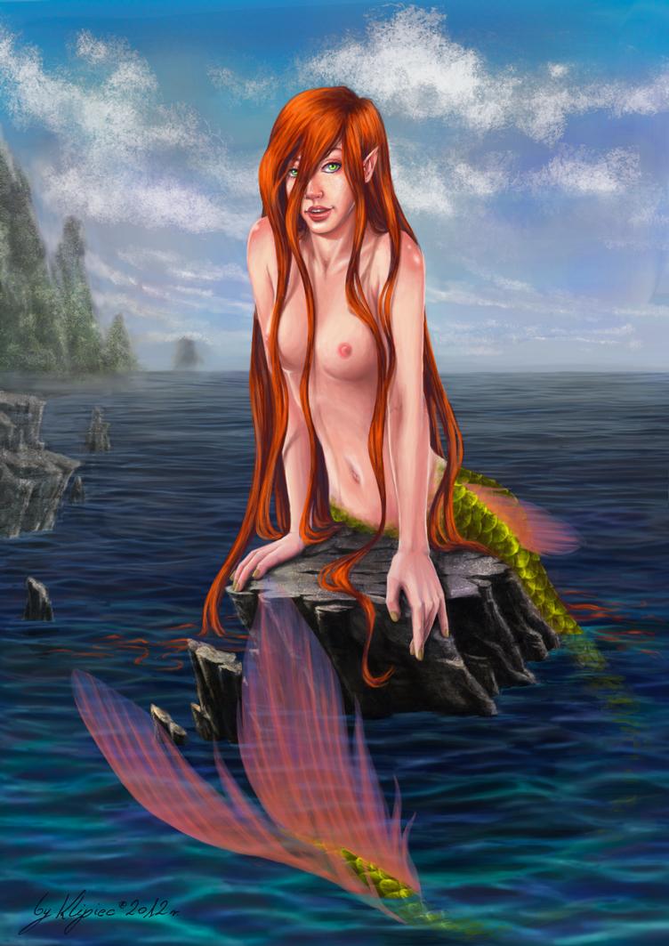 Commission_03: Mermaid by Klipiec