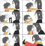 Snarry kiss