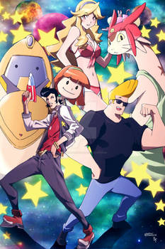 Space Dandy Johnny Bravo!