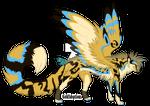 Winged Cheetah OC Auction