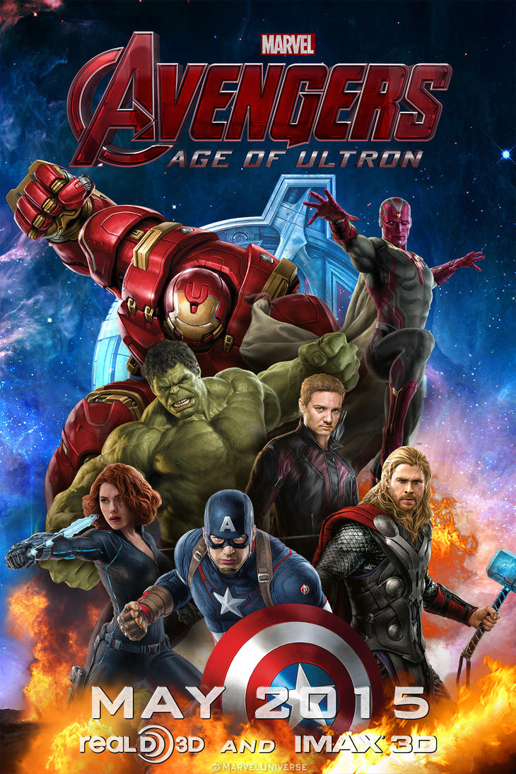 Avengers: Age of Ultron Promo Poster (Fan made) by ...