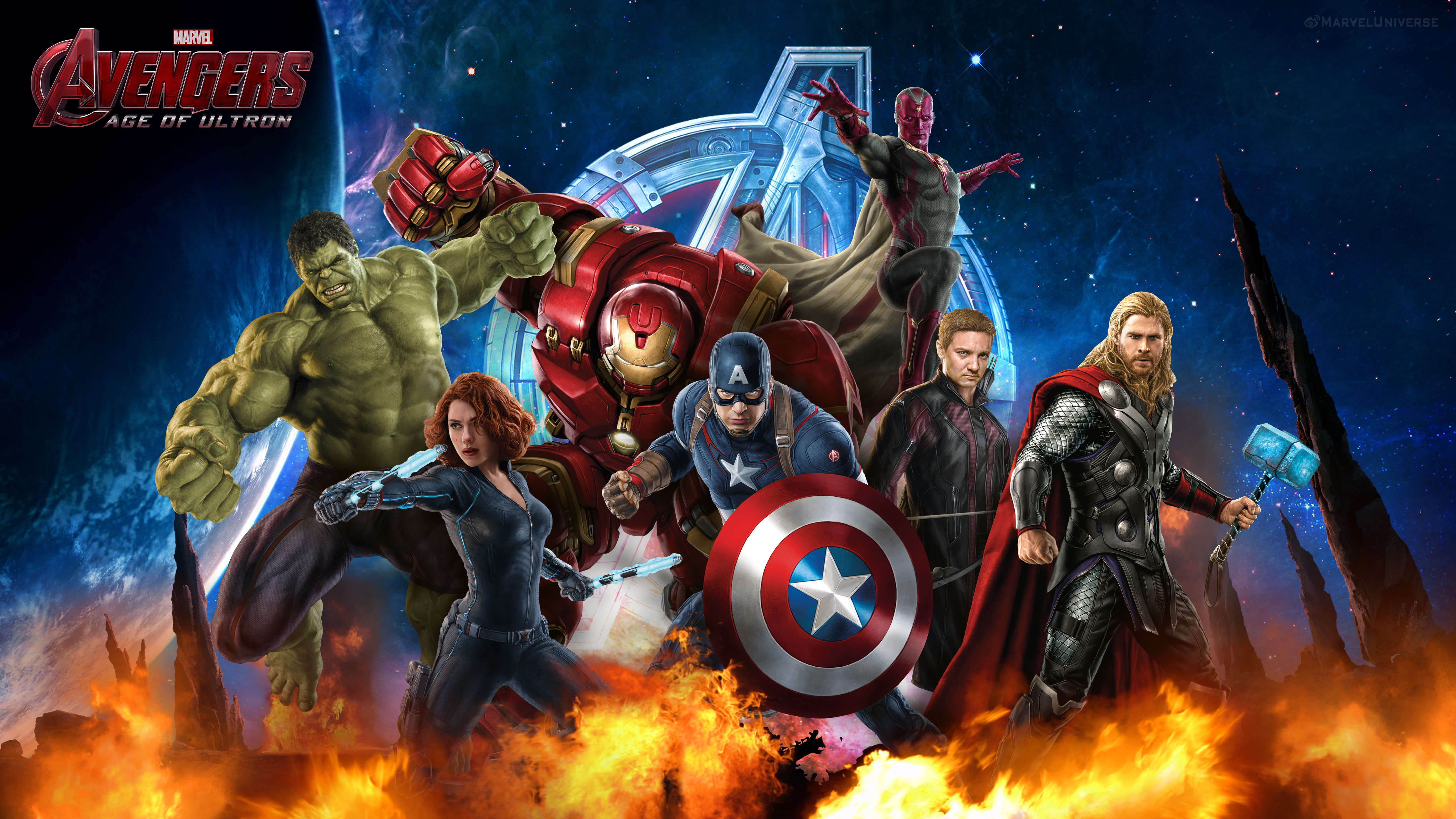 Avengers Age Of Ultron By Iloegbunam On Deviantart: Avengers: Age Of Ultron Promo Art By Chenshijie9095 On