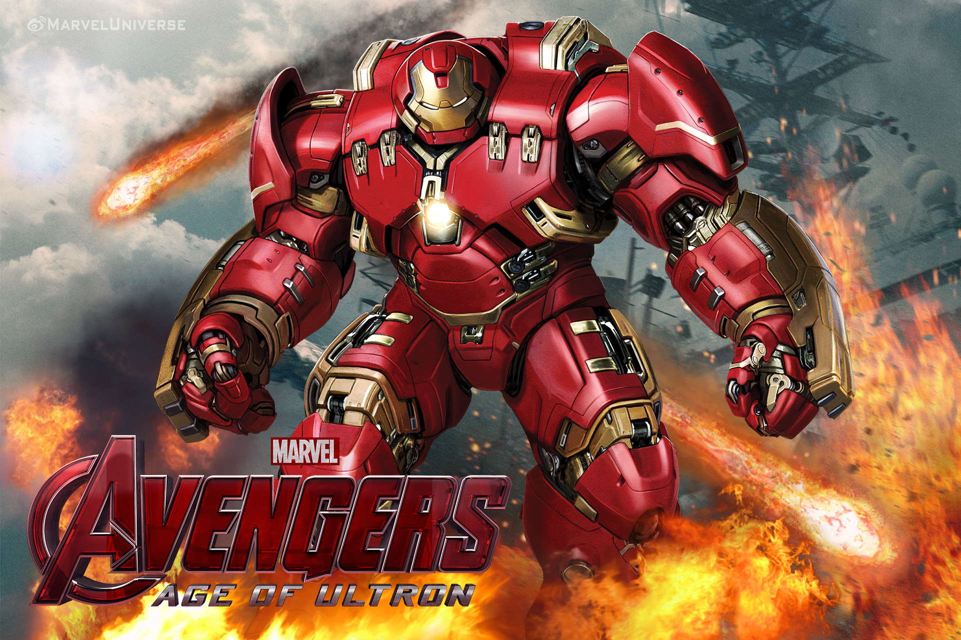 Top Age Of Ultron Hulkbuster Vs Hulk Wallpapers