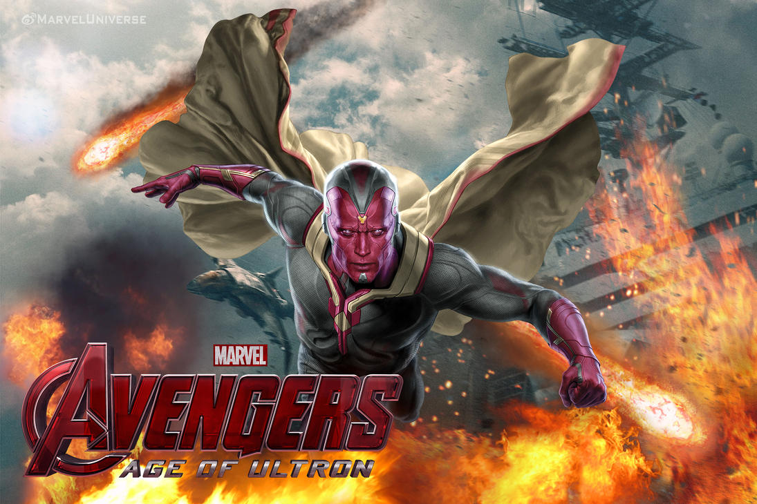 Avengers: Age of Ultron - Vision by Chenshijie9095 on ...