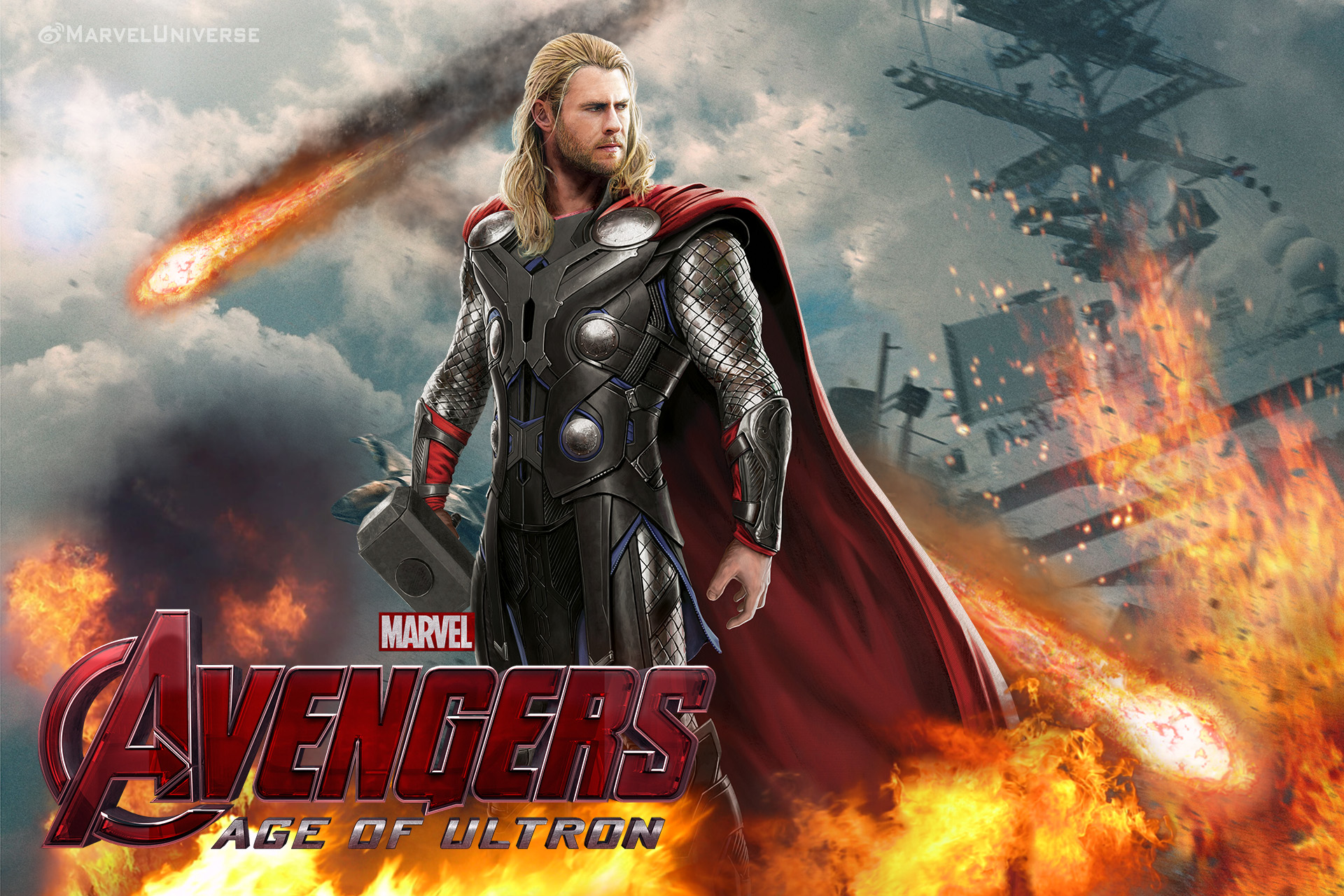 Avengers Age Of Ultron By Iloegbunam On Deviantart: Thor By Chenshijie9095 On DeviantArt