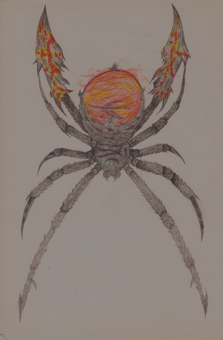 Ignitz Amell Shapeshift Spider by LordBloodySoul