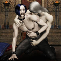 Fabien - My tasty slave by LadyNightVamp