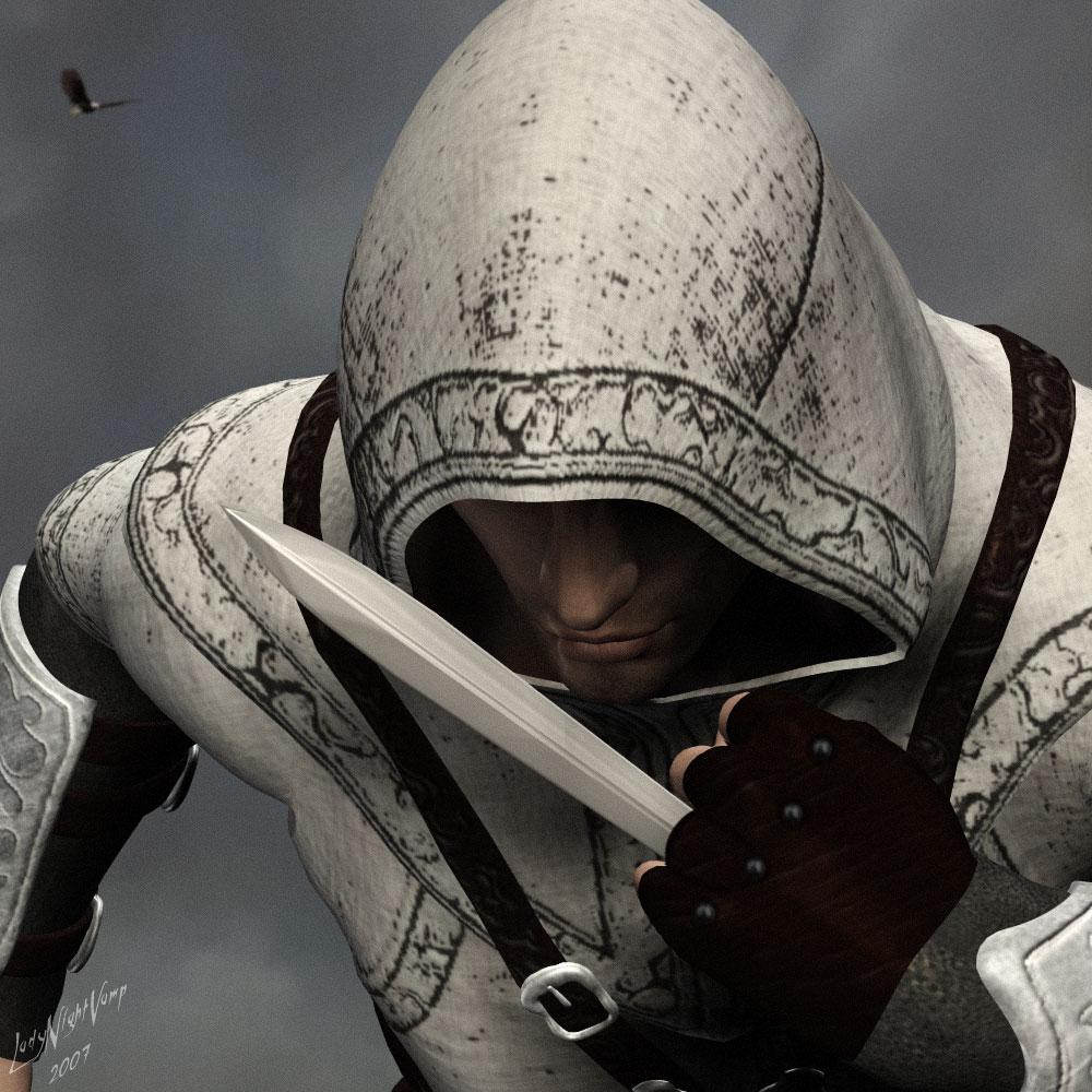 AC Altair - Hidden blade by LadyNightVamp