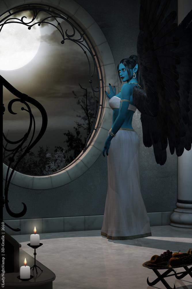 LoK - An ancient vampire girl by LadyNightVamp
