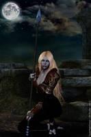 Young Razielim Magdalena by LadyNightVamp