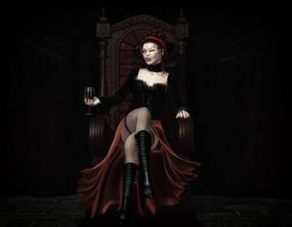 Vampirequeen by LadyNightVamp